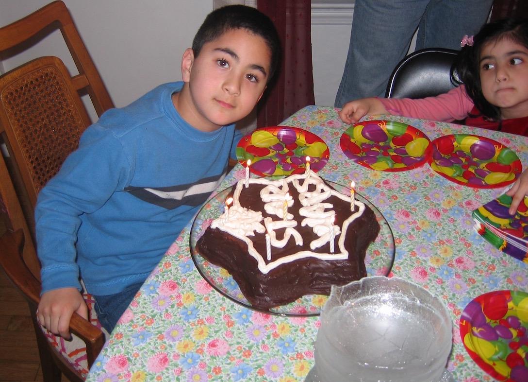 Israeli chocolate cake Yonatan