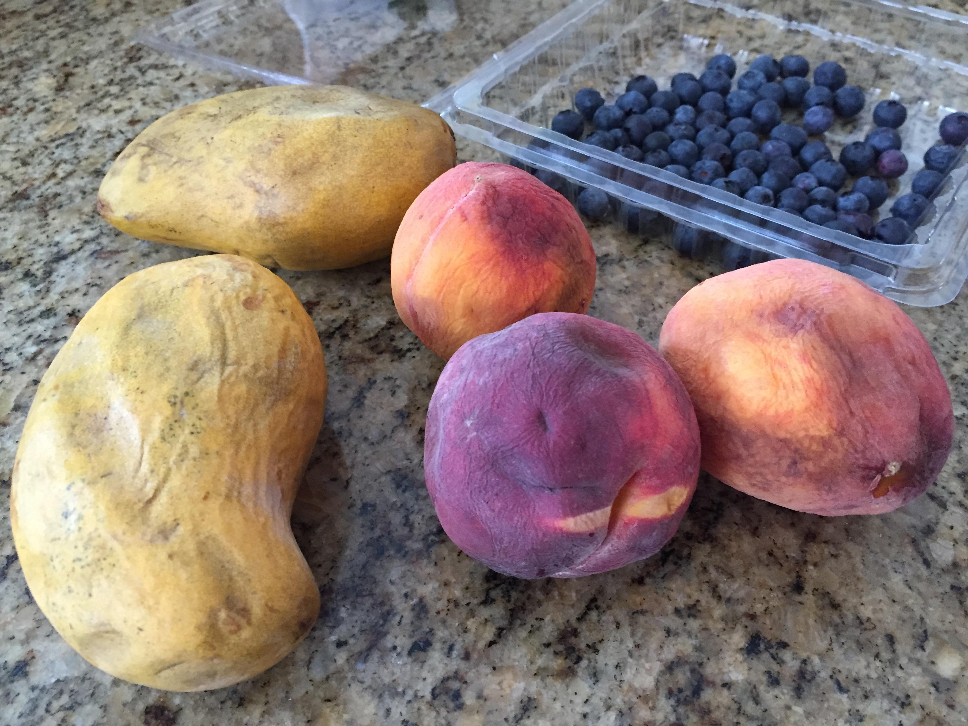 Kompot over-ripe fruit