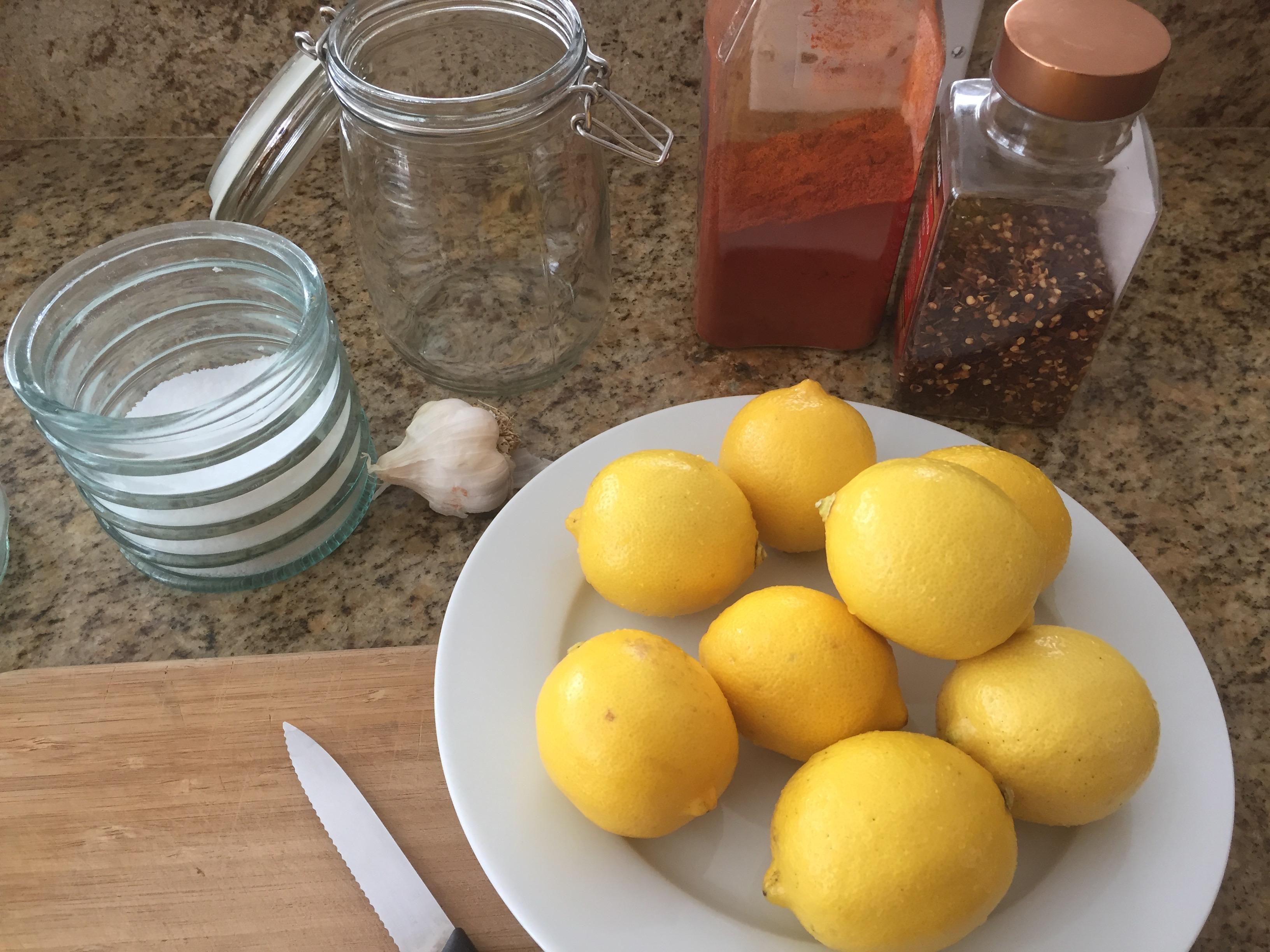 lemon ingredients